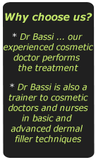 Dr Bassi experienced cosmetic doctor